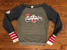Boston Red Sox 2013 World Series Thornton #38 Tiny Turnip Bling Sweatshirt M EUC