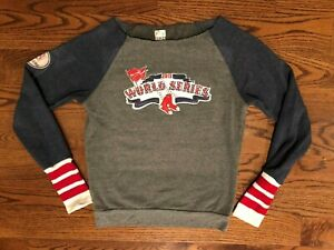Boston Red Sox 2013 World Series Thornton #38 Tiny Turnip Bling Sweatshirt M EUC