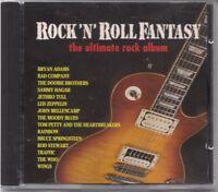 ROCK N ROLL FANTASY: THE ULTIMATE ROCK ALBUM CD! W/HAGAR~RAINBOW~WHO~ZEPPELIN NM