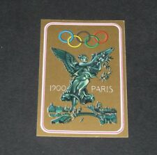 N°23 PARIS 1900 PANINI OLYMPIA 1896-1972 JEUX OLYMPIQUES OLYMPIC GAMES