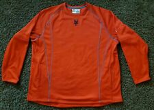 Majestic Authentic Therma Base New York Mets Pullover Sweatshirt BP top orange