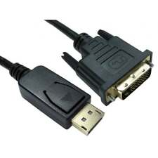 1m DisplayPort to DVI-D Cable 24+1 Pin Male to M Monitor Adaptor Cable Lead