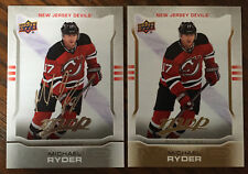 2 Michael Ryder 2014-15 Upper Deck MVP Silver Script Parallel & Regular #145