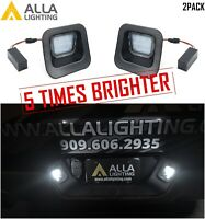 Alla Lighting CANBUS Bright White LED License Plate Light Assembly Replacement D