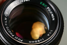 Fujica Fujinon EBC 50mm f1.4 M42 screw mount lens