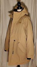 The North Face Men's STRATUS DOWN PARKA Coat Jacket GORE-TEX Kelp Tan L $600
