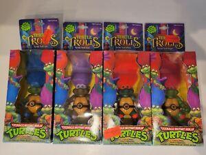 Teenage Mutant Ninja Turtles Trolls - Raph, Mike, Leo, Don - TMNT NIB