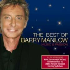 The Best Of Barry Manilow Music And Passion CD Excellent Condition