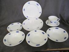 J3  Gustafsberg Sweden Blue Chelsea Dinnerware 13 Pieces