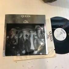 Queen LP The Game 1980 orig w/inner photo rare freddie mercury SILVER mirror !!