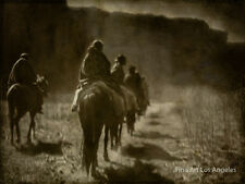 Edward Curtis Photo - The Vanishing Race, 1904, Navaho