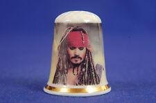 Pirates of The Caribbean Jack Sparrow Disney China Thimble B/180