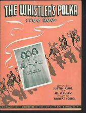 The Whistler's Polka 1945  Andrews Sisters Sheet Music