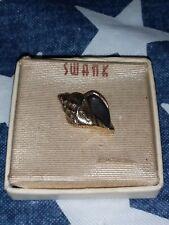 SWANK Vintage Seashell Pin