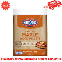 Kingsford 100% Hardwood Pellets for Grills, Maple, 20 Pounds, Outdoor Cooking