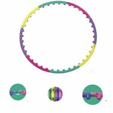 Massage Hoop Magnetic Fitness Hula Exercise Detachable Sport Double Row Health
