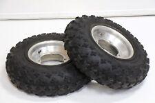 ITP HOLESHOT front tires aluminum wheels rims Yamaha Banshee YFZ450 RAPTOR M-44