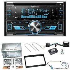 Kenwood DPX-7000DAB Digitalradio Einbauset für Peugeot 207 307 Partner Expert