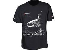 Dragon Hells Anglers T-shirt Catfish / Black / Sizes M-XXXL / High class cotton