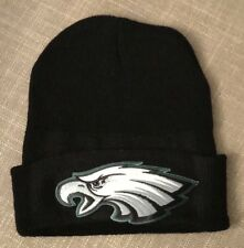 Philadelphia EAGLES Embroidered Patch Beanie Toboggan Cap Hat Football NEW !