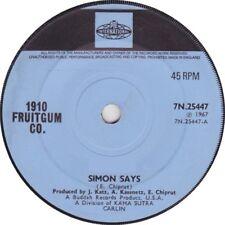 "1910 Fruitgum Co. – Simon Says  Original  7"" Vinyl 45rpm"