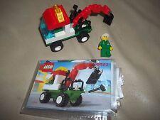 LEGO City/Town 6423 Mini Tow Truck 100% instructions MINIFIG SUPER RARE