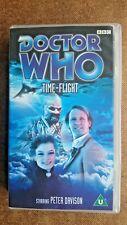 Doctor Who - Time Flight (VHS, 2000) - Peter Davidson