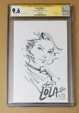 Lola XOXO #1e CGC SS 9.6 Lola Sketch original art by Siya Oum