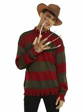 A Nightmare On Elm Street Freddy Krueger Tattered Costume Knit Sweater XL rubies