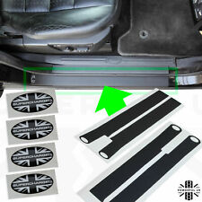 Door sill protector cover vinyl sticker kit for LandRover Disco 3&4 tread plates