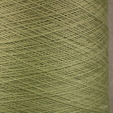 ITALIANO PURO MERINO WOOL 2 / 30V-Verde Salvia-laceweight filato 1 2 PLY LANA GATTO