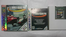 F1 WORLD GRAND PRIX FORMULA 1 GAME BOY COLOR GAMEBOY. PAL.ESPAÑA Y OTROS IDIOMAS