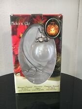 Flicker N Go Illuminated Ornament With Stand