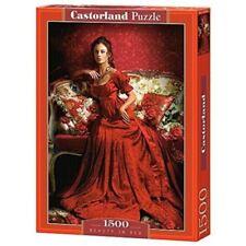 Puzzles rouges, nombre de pièces 1000 - 1999 pièces