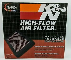 K&N 33-2304 Reusable Cotton Panel Air Filter for Outback/Impreza/Legacy/Forester
