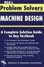 Machine Design Problem Solver (Problem Solvers Solution Guides)-ExLibrary