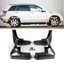 4Pcs Mud Ice Sand Splash Flap Guard Fender For Suzuki Grand Vitara 2006-2013