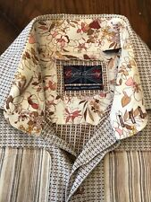 English Laundry Men's Button Embroidered Long Sleeve Shirt  XL