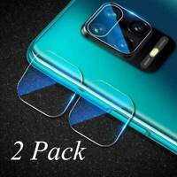 2 x For Xiaomi Redmi Note 9 Pro 9S Back Camera Lens Tempered Glass Protector