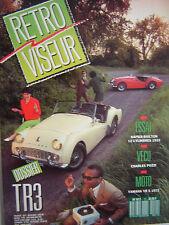 n° épuisé RETROVISEUR n°11 dossier TRIUMPH TR3 / 1989 / DARMONT + AMILCAR