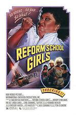 REFORM SCHOOL GIRLS 1986 Linda Carol Sybil Danning US 1-SHEET POSTER