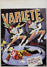 German Poster Figure skating Show 1955 Ice Revue Olympic Games 1956