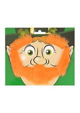 Barbe sourcils SIDEBURNS Leprechaun JOUR DE LA ST PATRICK IRLANDE IRLANDAIS