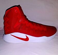 NIKE Mens Hyperdunk 2016 TB Basketball Shoes 12.5 University Red /WH MSRP $140