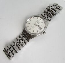 Vintage Longines 5 star ADMIRAL Watch Stainless Case & Bracelet 21j cal. 506