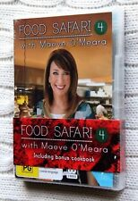 Food Safari- 4, with Maeve O'Meara (+ Cookbook) NEW, R-4, FREE POST IN AUSTRALIA