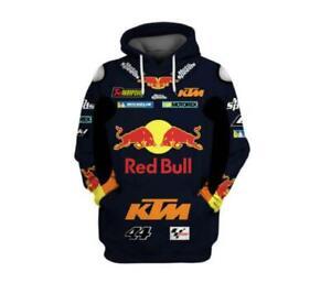 New To press motogp Men's hoodie KTM Racing motorcycle sweatshirt Hooded Pul