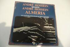 ANDRE HOSSEIN ALMERIA UNA FANTASIA POUR PIANO ET GUITARE 45T BARCLAY AVEC INSERT