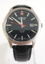 SWISS MILITARY HANOWA Major Herrenuhr Lederband schwarz NEU 06-4303.04.007 S35