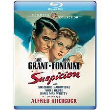 SUSPICION (Cary Grant, Joan Fontaine) -  Blu Ray - Sealed Region free